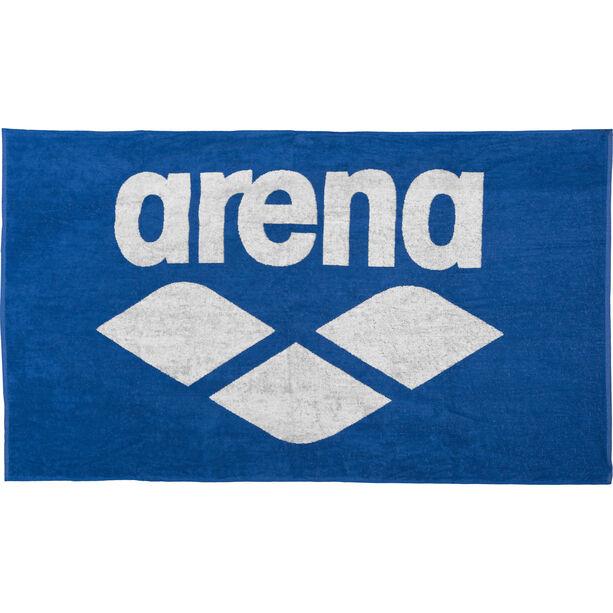 arena Pool Soft Towel royal-white