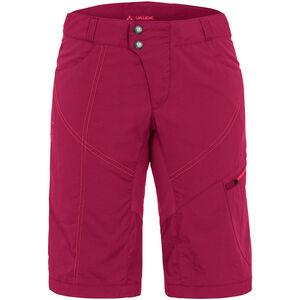 VAUDE Tamaro Shorts Damen crimson red crimson red