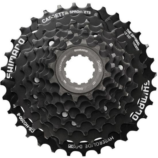 Shimano CS-HG200 Kassette 8-fach schwarz bei fahrrad.de Online