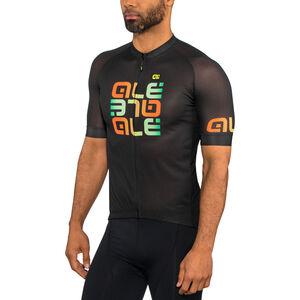 Alé Cycling Solid Mirror SS Jersey Men black bei fahrrad.de Online