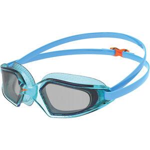 speedo Hydropulse Brille Kinder poolblue/chilliblue/lghtsmoke poolblue/chilliblue/lghtsmoke
