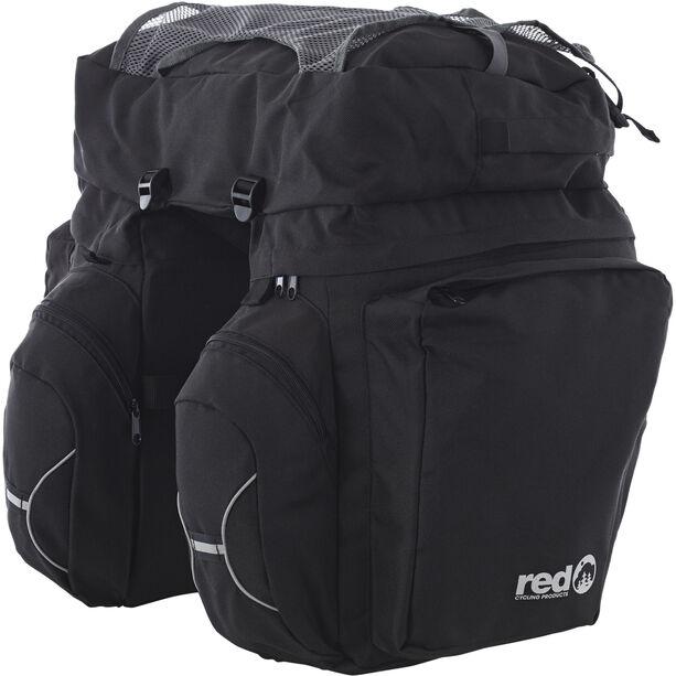 Red Cycling Products Touring Set Gepäckträgertasche schwarz