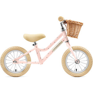 "Creme Mia Push-Bike 12"" Kinder pale peach"