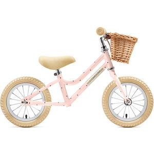 """Creme Mia Push-Bike 12"""" Kinder pale peach"""