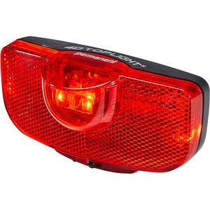 Busch + Müller 4D-Toplight Batterie-Rücklicht permanent schwarz/rot schwarz/rot