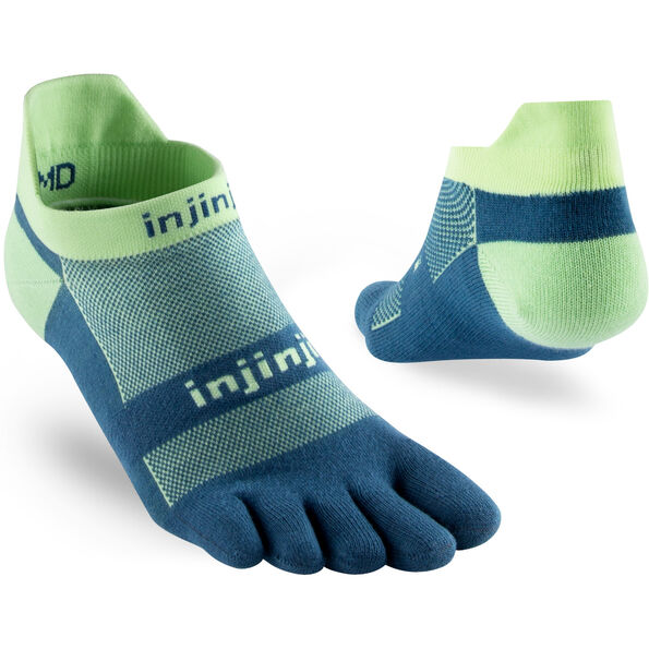 Injinji Run Xtralife Lightweight No Show Socken Herren seafoam