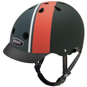 Nutcase Element Stripe Matte Helmet schwarz bei fahrrad.de Online