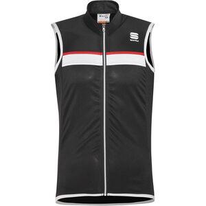 Sportful Pista Sleeveless Jersey Men black/white-red bei fahrrad.de Online
