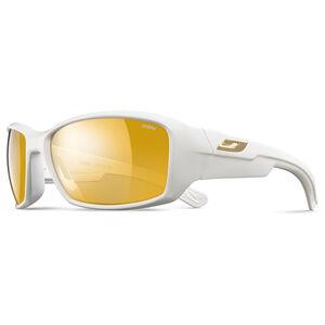 Julbo Whoops Zebra Sonnenbrille shiny white-yellow/brown shiny white-yellow/brown