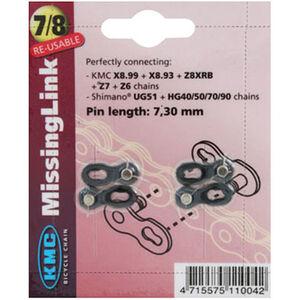 KMC CL-573 R Misslink Kettenschloß 7,3-7,8mm silber
