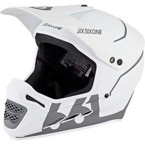 SixSixOne Reset Fullface Helm tundra white tundra white