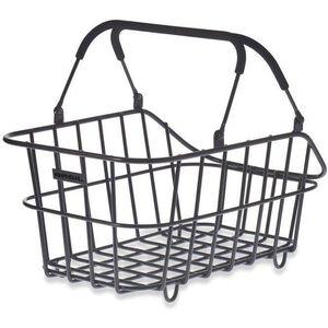 Basil Cento Alu Northern Light Rear Wheel Basket Bag Multi System, Northlight schwarz schwarz