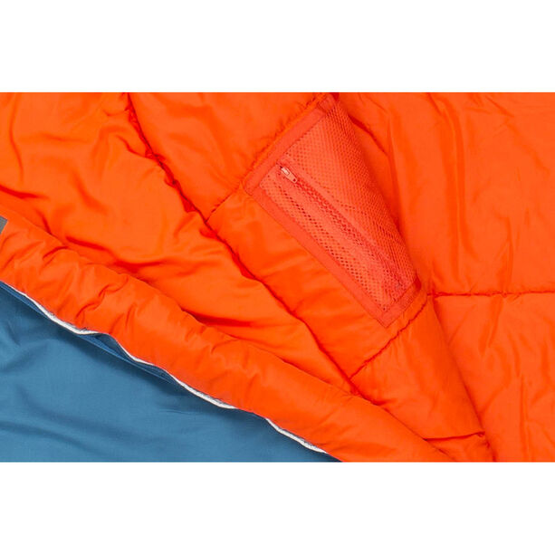 Jack Wolfskin Grow Up Comfort Sleeping Bag Kinder moroccan blue