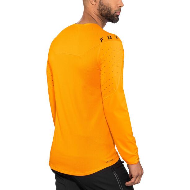 Fox Flexair Delta LS Jersey Herren atomic orange