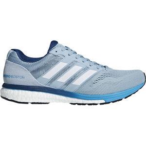 adidas Adizero Boston 7 Shoes Men ash grey/ftwr white/shock cyan bei fahrrad.de Online