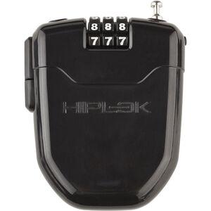 Hiplok FLX Seilschloss mit integriertem LED-Licht schwarz schwarz