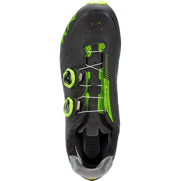 Northwave Rebel 2 Schuhe Herren black/green