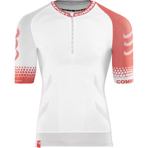 Compressport Trail Running SS Shirt Unisex White bei fahrrad.de Online