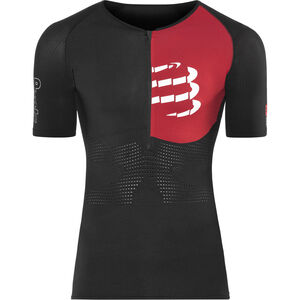 Compressport Triathlon Postural Aero Short Sleeve Top Men Black