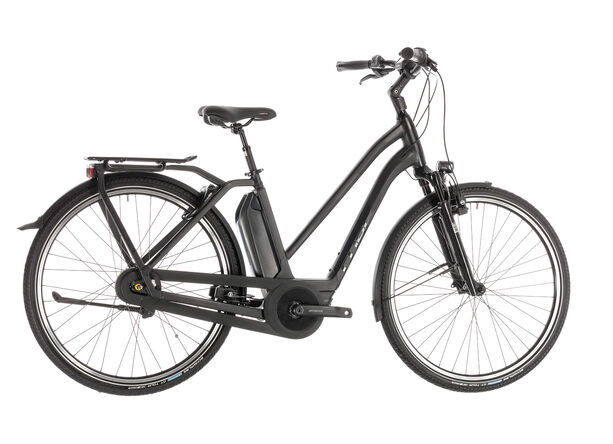 Cube Town Hybrid EXC 400 Trapez black edition