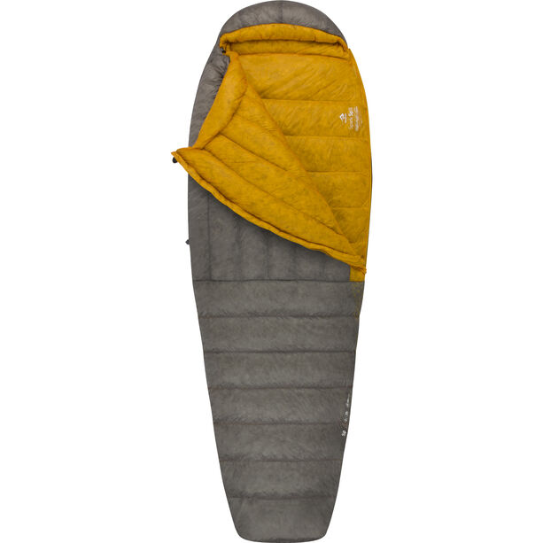 Sea to Summit Spark SpII Sleeping Bag Long dark grey/yellow