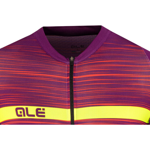 Alé Cycling Graphics PRR End SS Jersey Herren purple-red