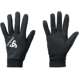 Odlo Stretchfleece Liner Warm Gloves black black