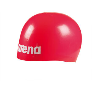 arena Moulded Pro II Swimming Cap red red