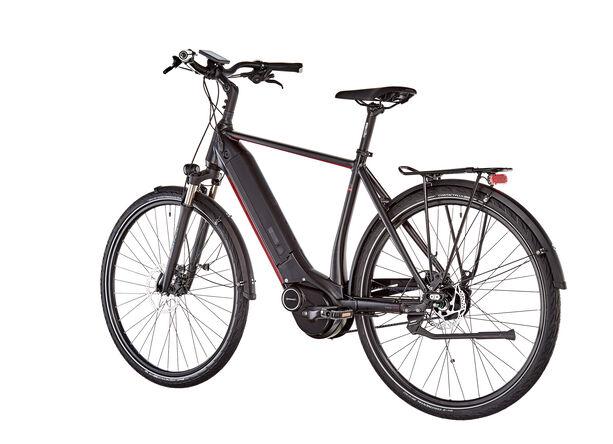 e-bike manufaktur 5NF Diamant Alfine Disc Gates schwarz matt