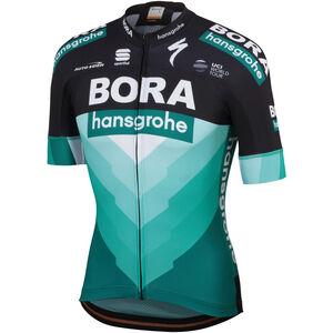 Sportful Team Bora-HG Bodyfit SS Jersey Herren black-green black-green