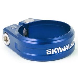 Sixpack Skywalker Sattelklemme Ø34,9mm blau blau