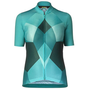 Mavic Sequence Pro SS Jersey Damen tropical green tropical green