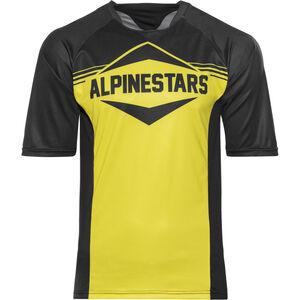 Alpinestars Mesa Shortsleeve Jersey Herren black yellow black yellow