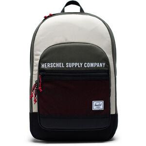 Herschel Kaine Rucksack 30l dark olive/overcast/black/red dark olive/overcast/black/red