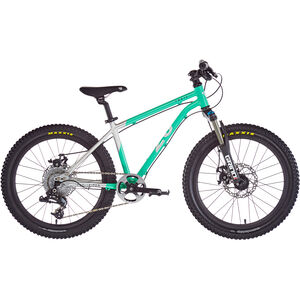 "Early Rider Hellion Trail MTB Hardtail 20"" Kinder brushed aluminum/cyan brushed aluminum/cyan"