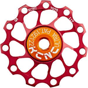 KCNC Jockey Wheel Ultra 11 Zähne SS Bearing rot rot