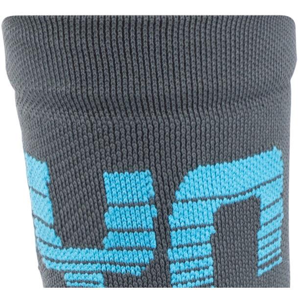 UYN Cycling Light Socks Herren black/grey/indigo bunting