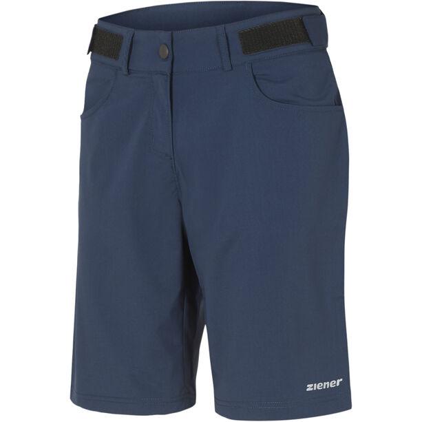 Ziener Pirka X-Function Shorts Damen antique blue