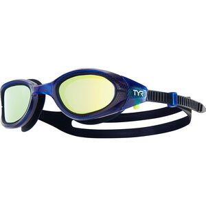 TYR Special OPS 3.0 Polarized Goggles gold/navy/navy gold/navy/navy