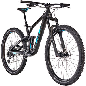 GT Bicycles Sensor Carbon Elite satin raw/gloss aqua blue/red satin raw/gloss aqua blue/red