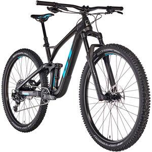 GT Bicycles Sensor Carbon Elite satin raw/gloss aqua blue/red bei fahrrad.de Online