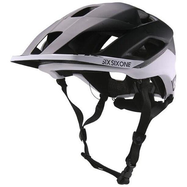 SixSixOne EVO AM Patrol MIPS Helm black/white