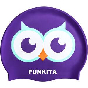 Funkita Silikon-Schwimmkappe twit twoo twit twoo