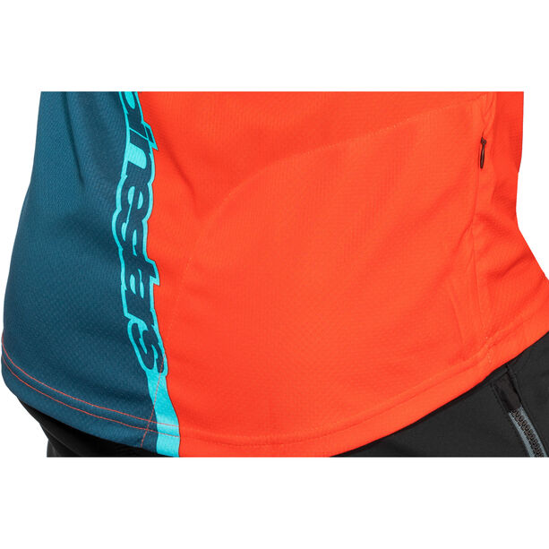 Alpinestars Crest 3/4 Jersey Herren poseidon blue/energy orange