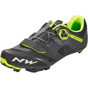 Northwave Razer Shoes Men black/yellow fluo