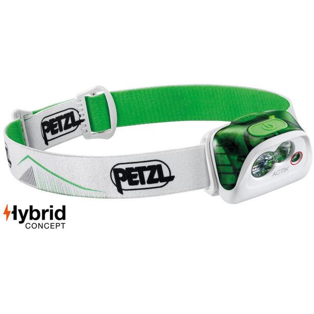 Petzl Actik Stirnlampe green