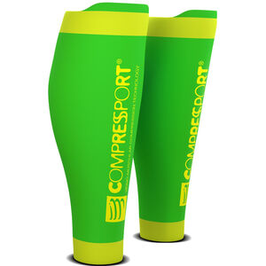 Compressport R2V2 Calf Sleeves fluo green fluo green