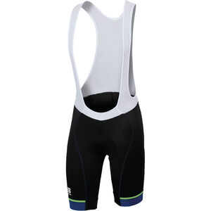 Sportful Giro Bibshort Men black/blue twilight/yellow fluo bei fahrrad.de Online