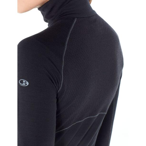 Icebreaker 200 Zone Langarm Half Zip Shirt Damen black