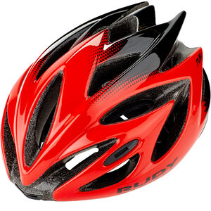 Rudy Project Rush Helmet red/black shiny red/black shiny